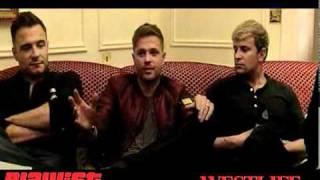 Westlife - Interview at Muzu TV 2011