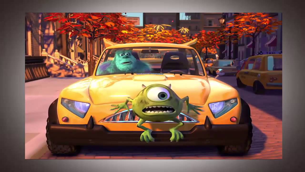 Monster S Inc Car