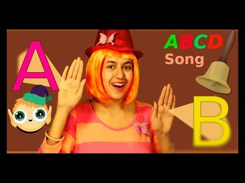 ABCD :The Alphabet Rap song   A to Z Song Rap   ABCD Song with action  ABC song rap