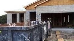 New Centex Houses under construction in Fountain Park Polk City, Florida