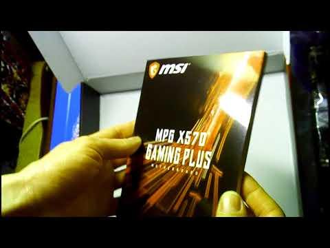 Материнская плата MSI MPG X570 Gaming Plus (sAM4, AMD X570, PCI-Ex16)
