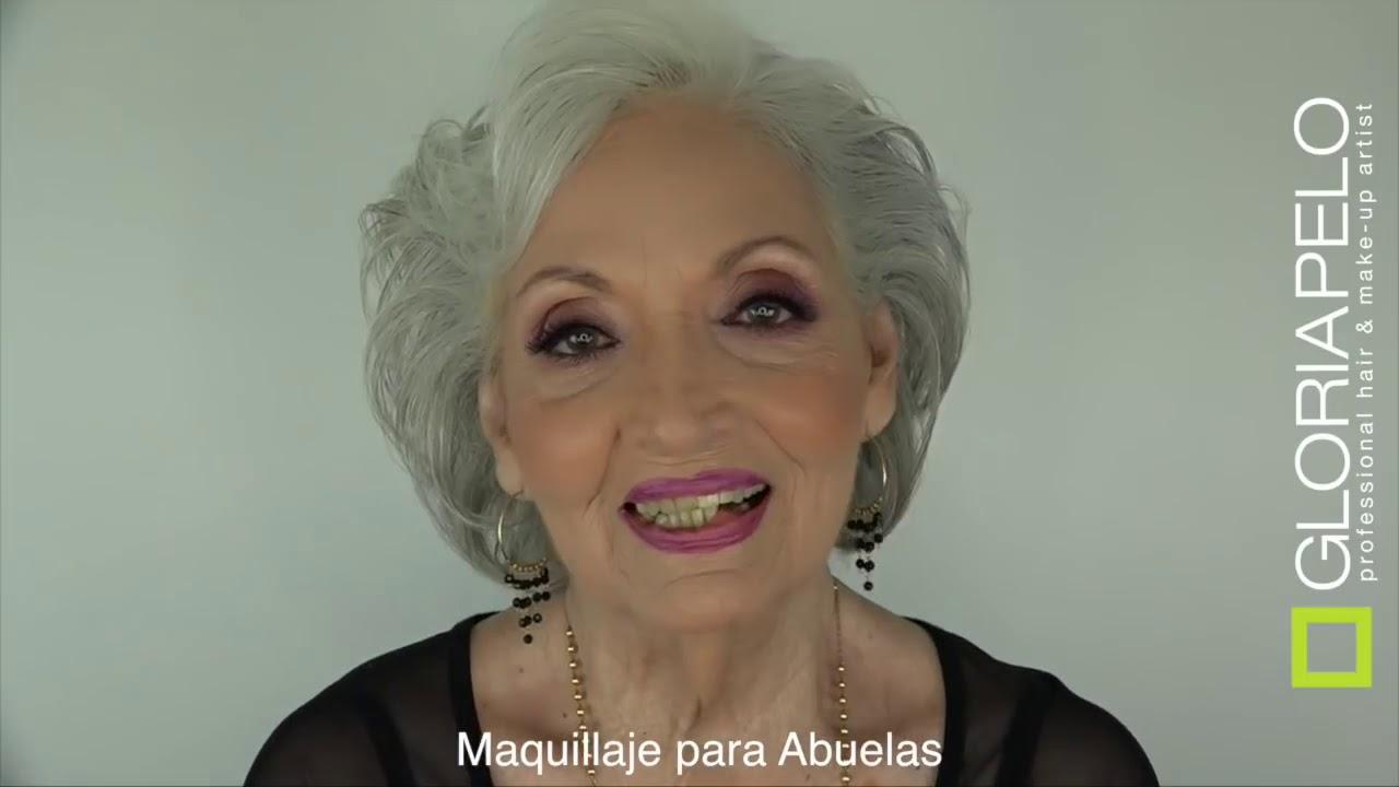 Abuelas Maduras maquillaje para abuelas - 3ra edad - rejuvenecedor- piel madura