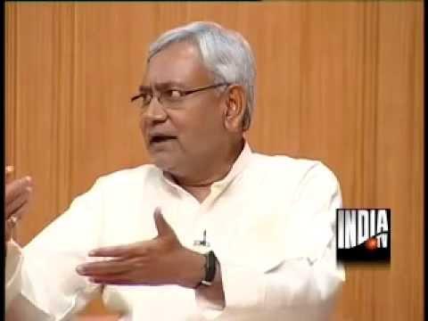 Bihar CM Nitish Kumar In Aap Ki Adalat (Part 3) - India TV