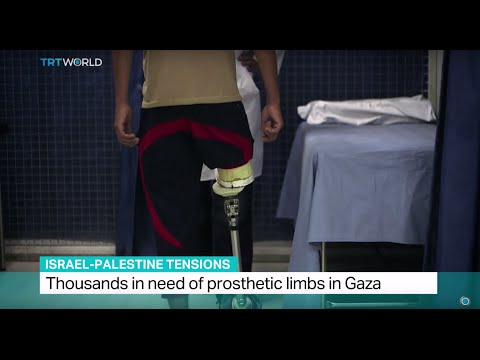 Israel-Palestine Tensions: Thousands in need of prosthetic limbs in Gaza