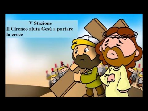 Via Crucis Per Bambini Tramite Disegni Youtube