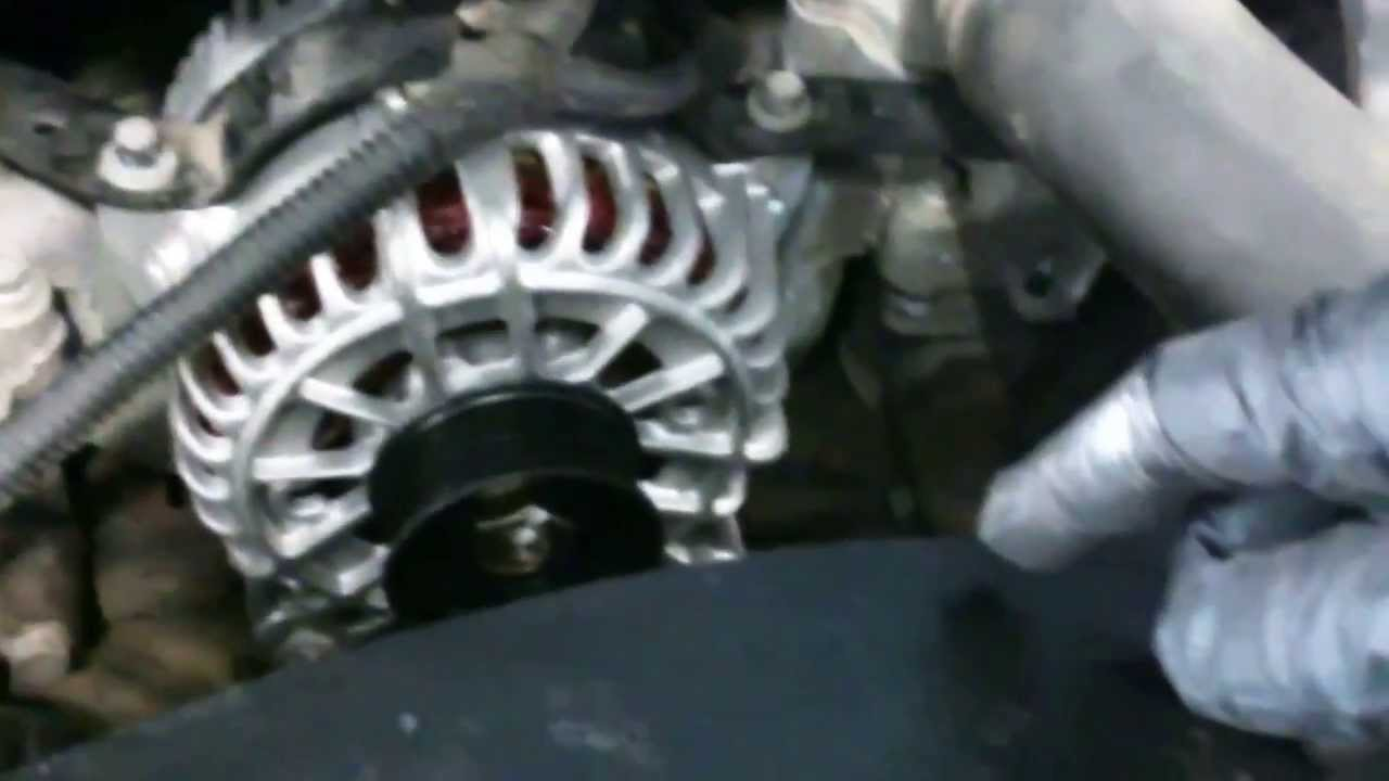 medium resolution of alternator replacement ford f250 f350 2004 2012 5 4l 6 8l install remove replace youtube