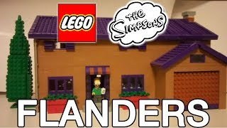 LEGO The Simpsons Ned Flanders' House Set