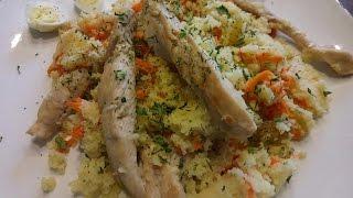 Кускус с курицей/рецепт здорового питания/Ппитание