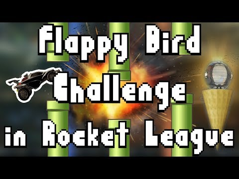 So This Is Called the Flappy Bird Challenge in Rocket League Now... thumbnail