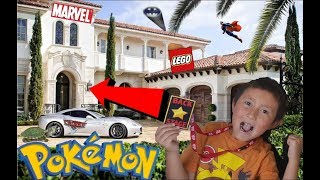 HOUSE TOUR!! Toy Museum! Lego Room! Carls Collectibles! New Review Station! Friday Freeday part #37!