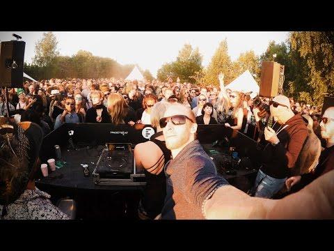 1 Hour Live - Ann Clue B2B Boris Brejcha @ Smiling Sun Open Air, Stockholm 2016