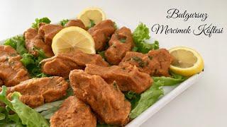 Bulgursuz Mercimek Köftesi - Pratik Tarif / Yemek Tarifleri - Melis'in Mutfağı