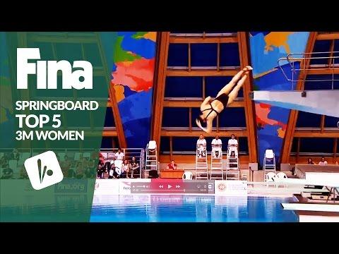 Top 5 - Women's 3m | FINA/NVC Diving World Series - Kazan 2017