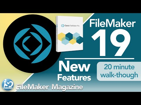 FileMaker Pro 19 - New Features & Functionality