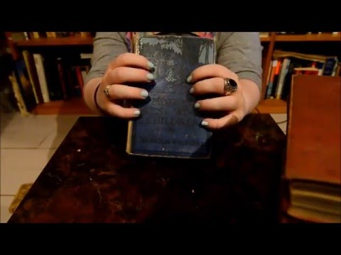 ASMR Gentle Book Tapping, Scratching and Page Turning (No Ta