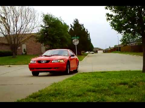 Mustang Gt Slp Loudmouth 1 Exhaust Youtube