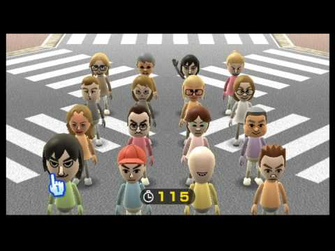Wii Play Find Mii 99 Levels (Max Score)