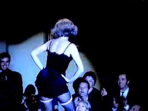 Barbara Bain Striptease Illusion