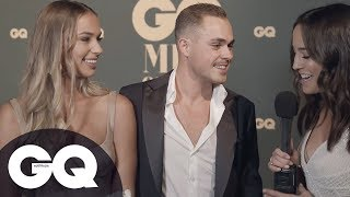 Dacre Montgomery And Girlfriend Talk Aussie Roots And Achieving Dreams On GQ Red Carpet