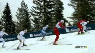 Skid-VM 2011 - Marcus Hellner Vann Och Jönsson Kom Trea i Herrsprinten
