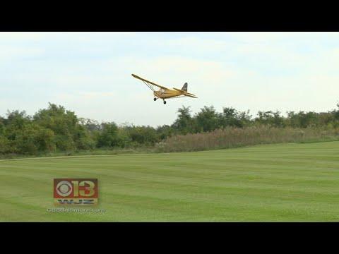 Radio Controlled Planes Take Flight In Southwest Baltimore