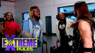 New Day brawl with Styles \u0026 Omos backstage: WWE Extreme Rules Kickoff Show (WWE Network Exclusive)