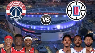 NBA Live Stream: Washington Wizards Vs Los Angeles Clippers (Live Reaction & Play By Play)