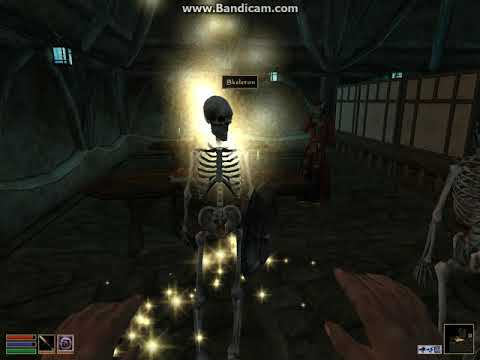Download Elder Scrolls III: Morrowind {How to do the summoning glitch}