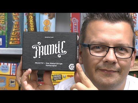 Frantic (Game Factory) - Mehr Als Nur Ein Uno Spiel! Kartenspiel Geheimtipp?