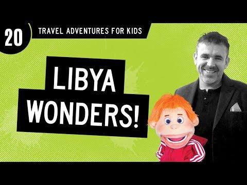 "TRAVEL ADVENTURES for kids: ""Libya Wonders!"" (Funny!)  #20"