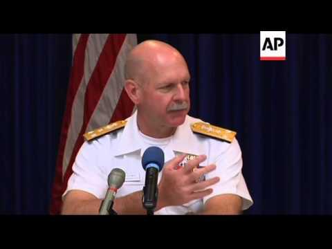 Commander US 7th Fleet talks about regional issues