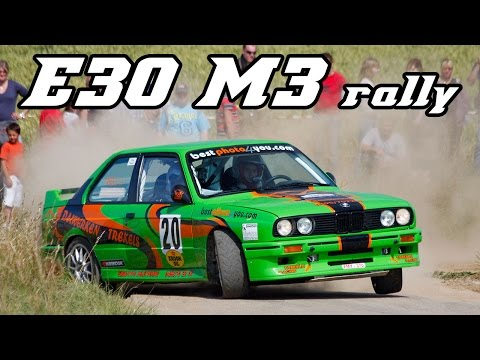 Bmw E30 M3 Best Of Rally Youtube