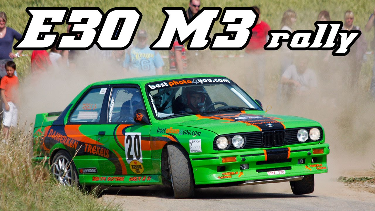 Bmw E30 M3 Best Of Rally