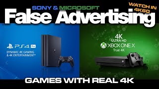 Dynamic 4K and True 4K False Advertising 4K60 - Colteastwood