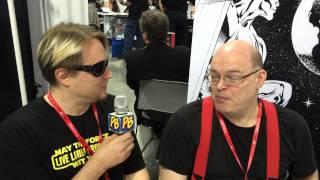 Comic Book Artist Robin Riggs is Interviewed by Comic Book Artist J.K. Woodward at NY Comic Con 2013