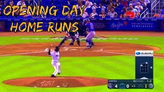 Opening Day Home Runs 2019 (part 2)