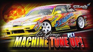 Machine Tune Up - C's Garage S14 Pt.1