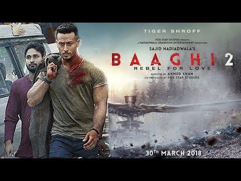 Baaghi 2 Movie Trailer FIRST Look - Tiger Shroff,Disha Patani