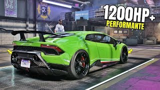 Need for Speed Heat Gameplay - LAMBORGHINI HURACAN PERFORMANTE Customization | Max Build