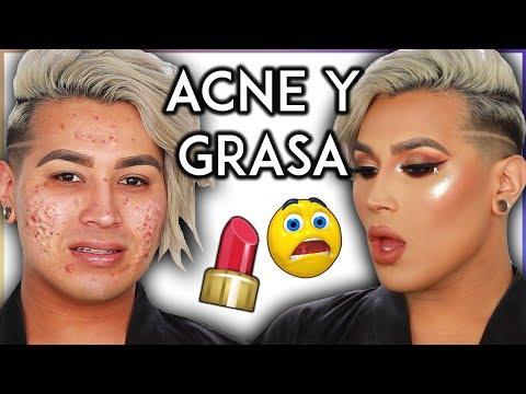 MAQUILLAJE PARA PIEL GRASA Y ACNE Acne + Oily Skin Makeup