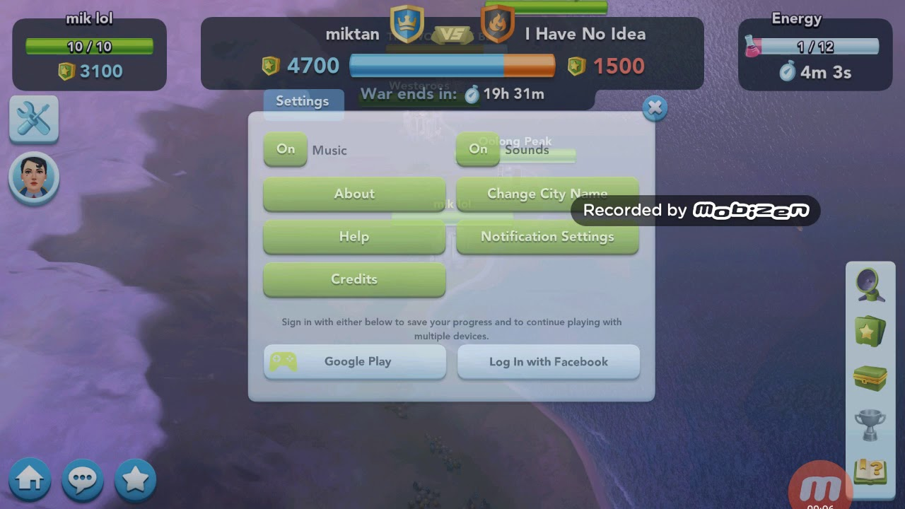 SimCity BuildIt 10 - Club Wars- opponent club members' attack