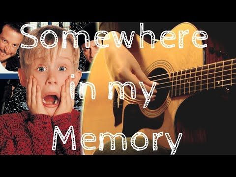 John Williams Somewhere in my Memory from Home Alone fingerstyle solo guitar