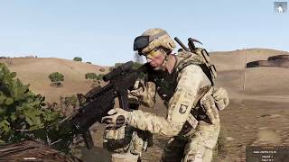 Gambar cover ArmA 3 Gameplay - Op Black Spear Phase 12 - Havoc 1 Auxiliary Mission