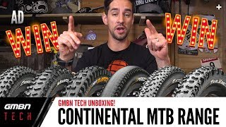 Continental's Range Of Premium King Mountain Bike Tyres | GMBN Unboxing