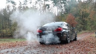 740 HP BMW M5 F10 by Aulitzky Tuning: Tunnel Sound, Revs, Start Up, Drive