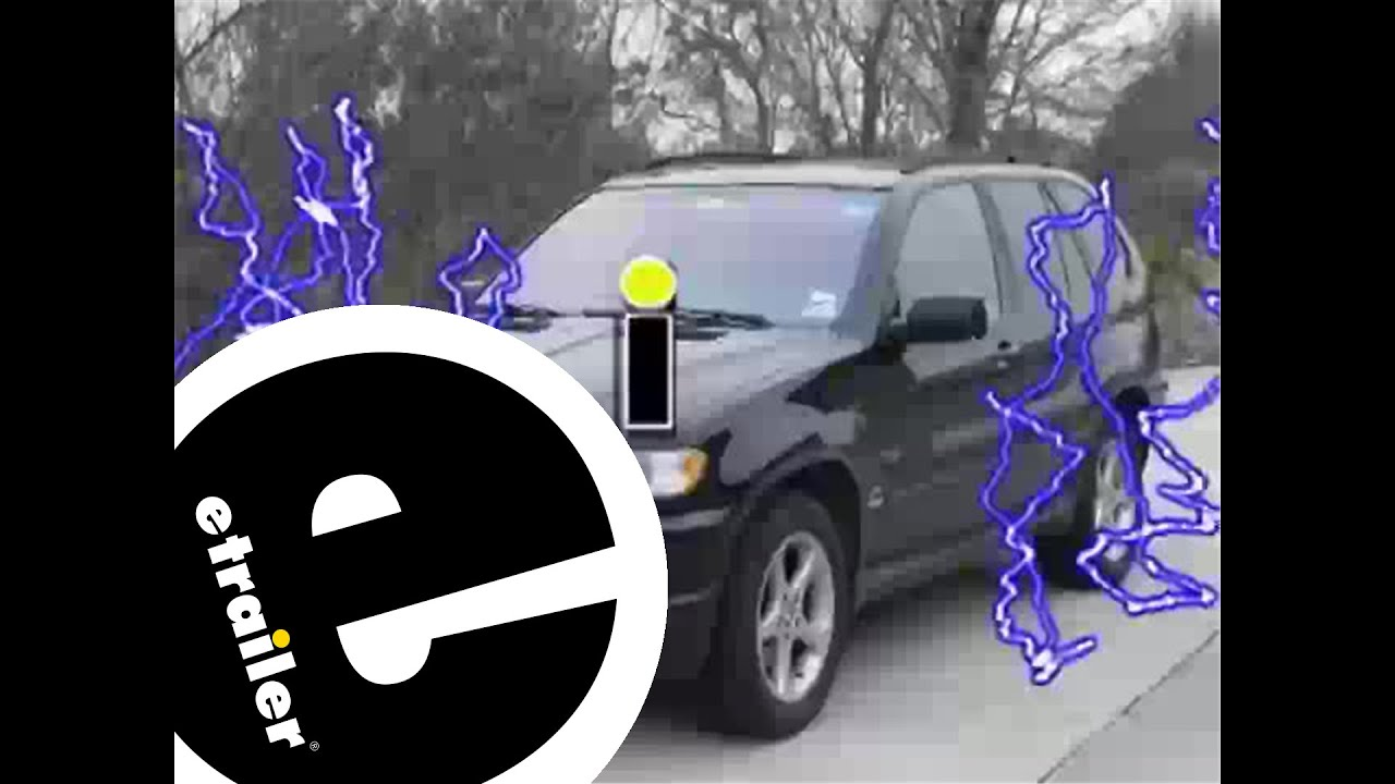 Trailer Wiring Harness Installation - 2001 BMW X5 - etrailer.com on