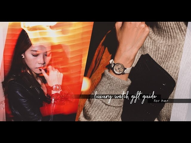 Luxury Watch Gift Guide:夜幕的燦爛星晨落在腕間,是珠寶、也是手錶
