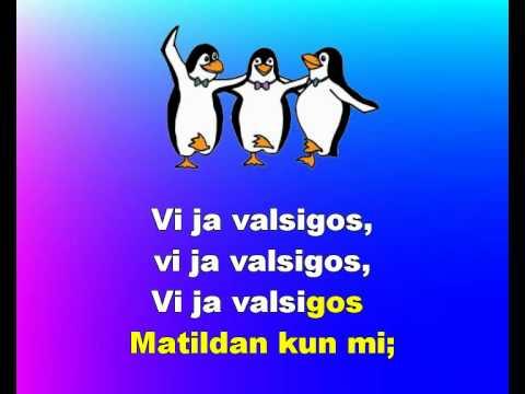 VALSIGANTE MATILDAN - Illustrated Karaoke in Esperanto of the Australian folk-song Waltzing Matilda