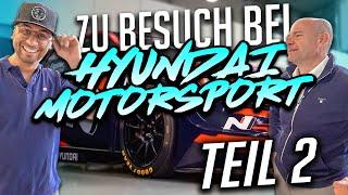 JP Performance - Zu Besuch bei Hyundai Motorsport | Teil 2