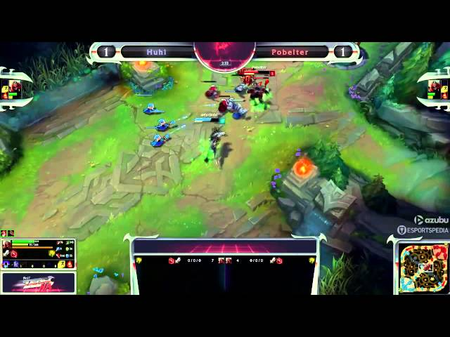 [LOL] Best Zed NA   Grand Finals   Pobelter vs  Huhi